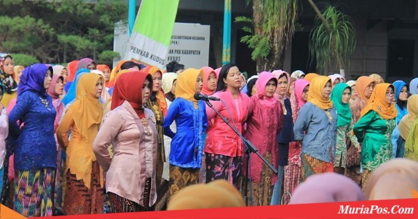 Berbatik dan Memakai Kebaya, Jajaran ASN Kabupaten Ikuti Apel Peringatan Hari Kartini