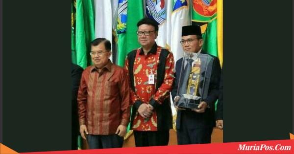 Satu-satunya di Indonesia, Pemkab Kudus Raih Penghargaan Ini Dari Presiden RI