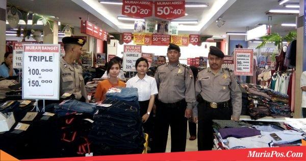 Jelang Lebaran, Polres Kudus Perketat Pengamanan Pusat Perbelanjaan