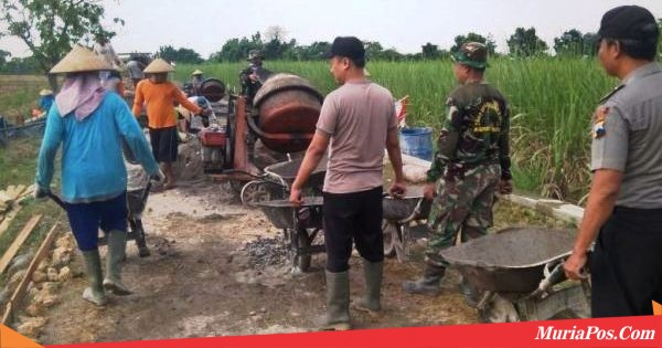Program Mbangun Deso di Pati Ini, Justru Rekatkan TNI, Polri dan Warga